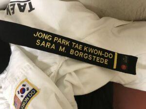 Black belt.