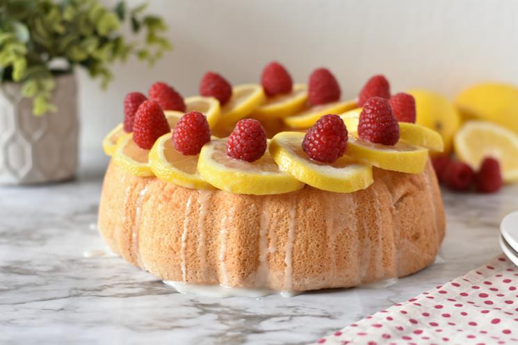 Whole cake - lemon angel food for WW