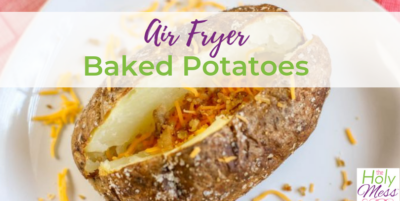 How to bake potatoes in an air fryer