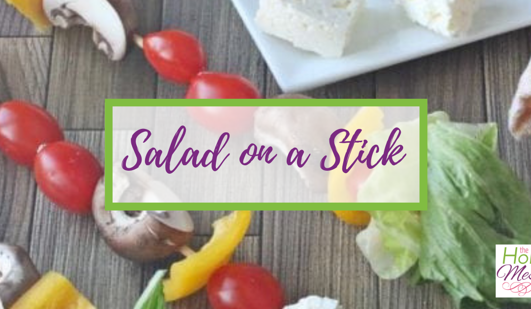 Salad on a Stick – Easy Healthy Lunch Recipe