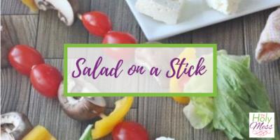 salad to dip