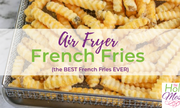 Air Fryer Frozen French Fries – Best French Fries Ever