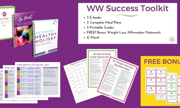 Weight Watchers/WW Success Toolkit