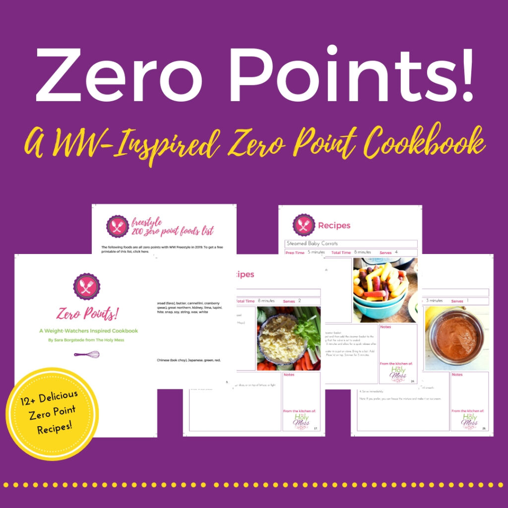 Zero Point Cookbook pages