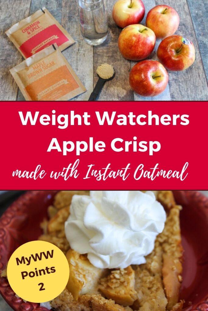 Easy WW Apple Crisp Recipe