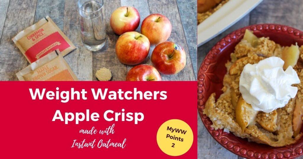 Weight Watchers Easy Apple Crisp