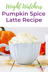 Weight Watchers Pumpkin Spice Latte