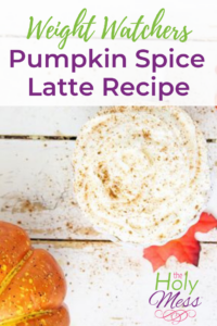 Weight Watchers Pumpkin Spice Latte Recipe