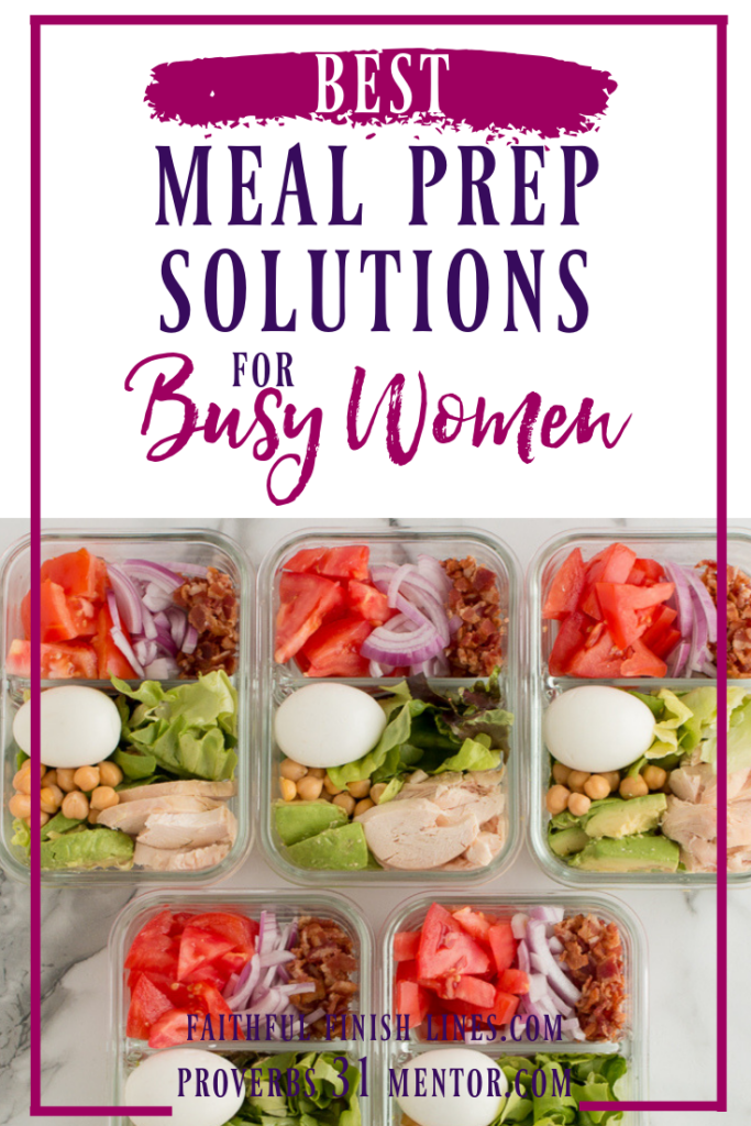 Best Meal Prep Ideas for Busy Women