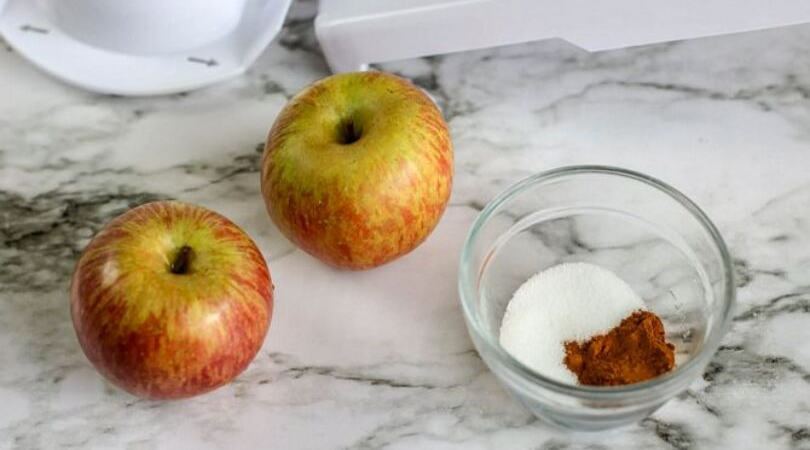 Air Fryer Apple Chips ingredients