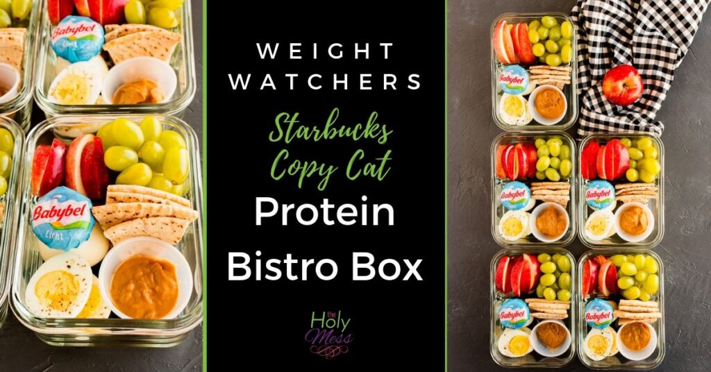 weight watchers ww protein bistro box