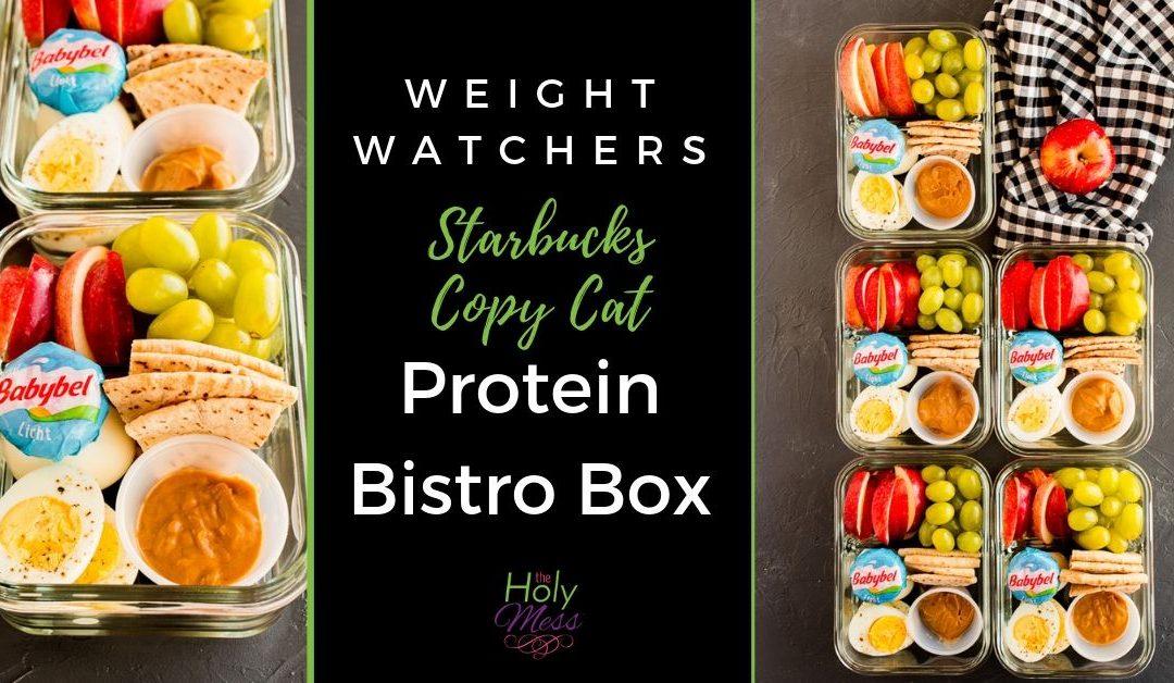 Weight Watchers Protein Bistro Box – Starbucks Copy Cat Recipe
