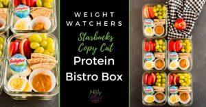 weight watchers ww protein bistro box