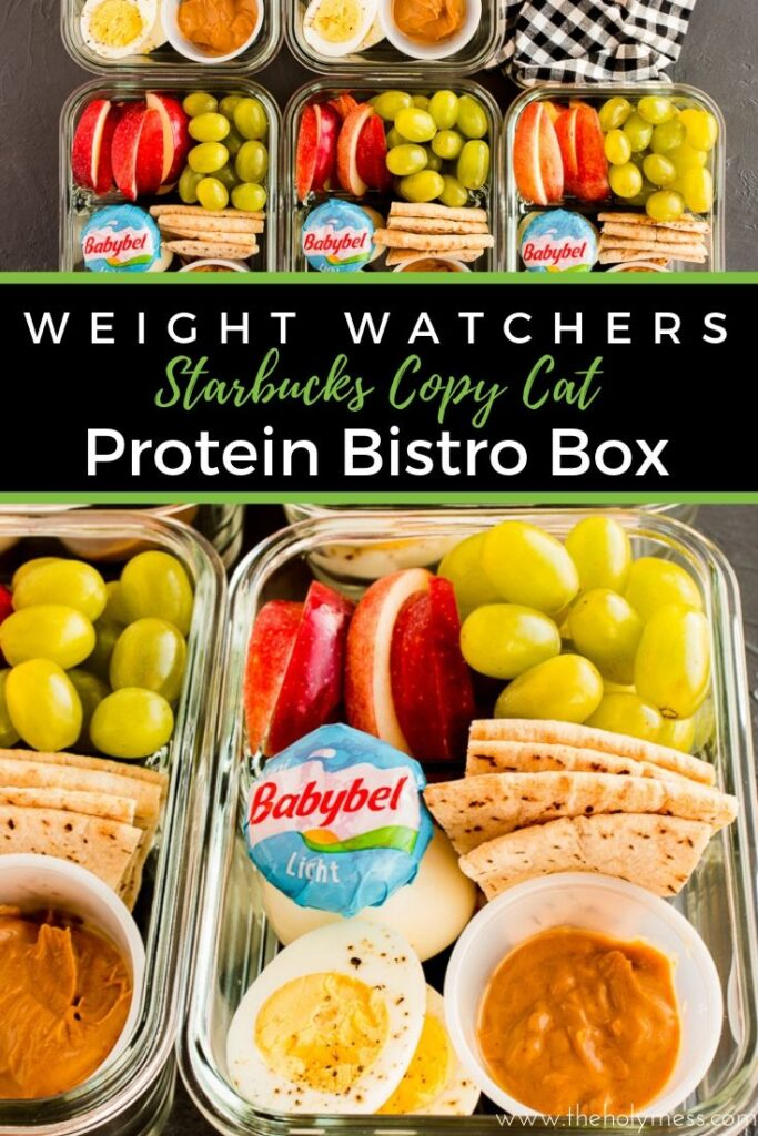 WW Easy Lunch Meal Prep Recipe, Protein Bistro Box