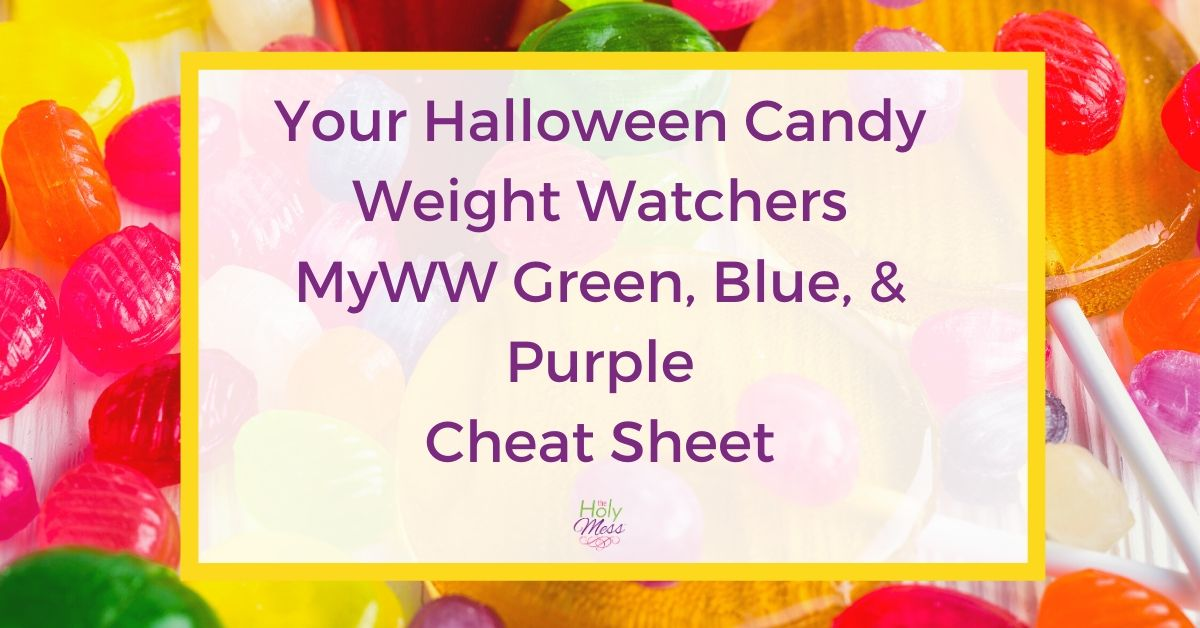 Weight Watchers Halloween Candy Guide