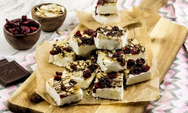 Weight Watchers Toasted Almond Cranberry Bark Recipe