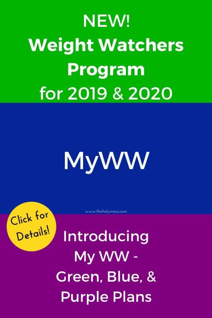 MyWW New Weight Watchers Plan for 2020