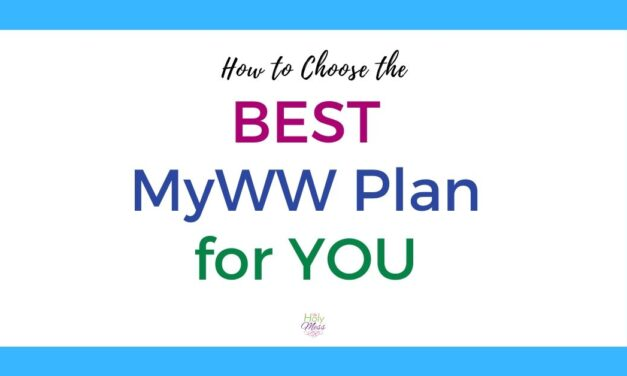 How to Choose the Best MyWW Plan for You