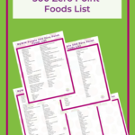 MyWW Purple 300 Zero Point Foods List - Free PDF Printable