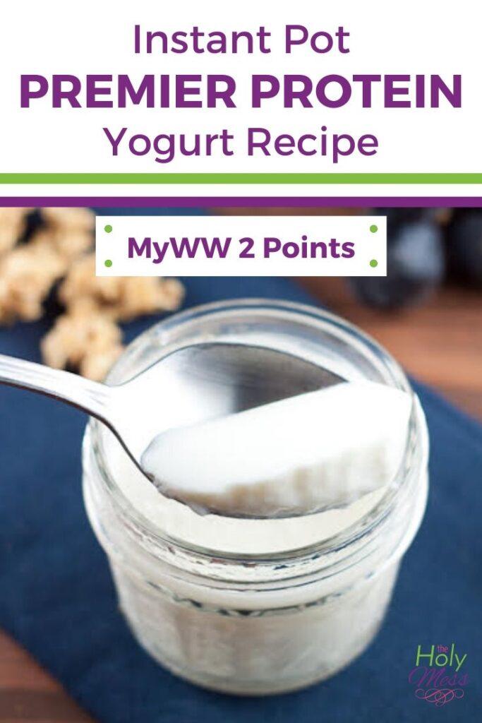 Premier Protein Instant Pot Cold Start Yogurt Recipe
