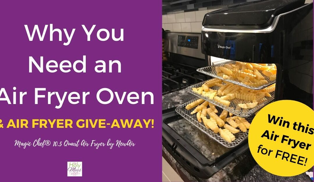 Why You Need an Air Fryer Oven – Magic Chef® 10.5 Quart Air Fryer by NewAir
