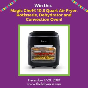 Win this Air Fryer Oven!