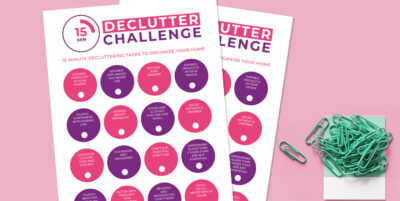 15 Minutes a Day Declutter Challenge