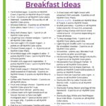 Weight Watchers Breakfast Ideas