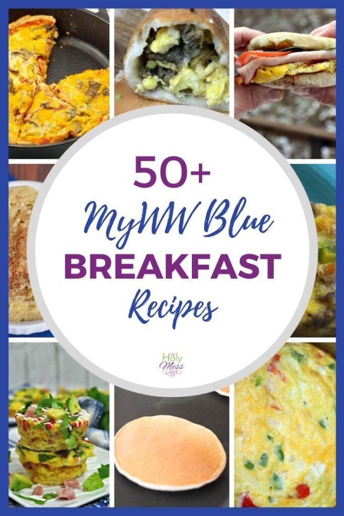 MyWW Blue 50 Breakfast ideas for Weight Watchers
