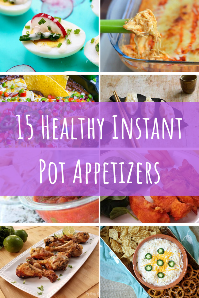 Healthy Instant Pot Appetizers