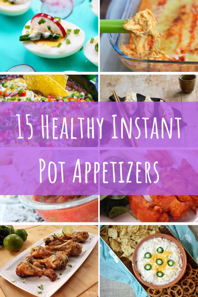 Healthy Instant Pot Appetizers