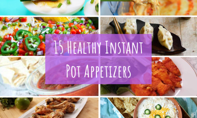 15 Healthy Instant Pot Appetizers - photos of recipes