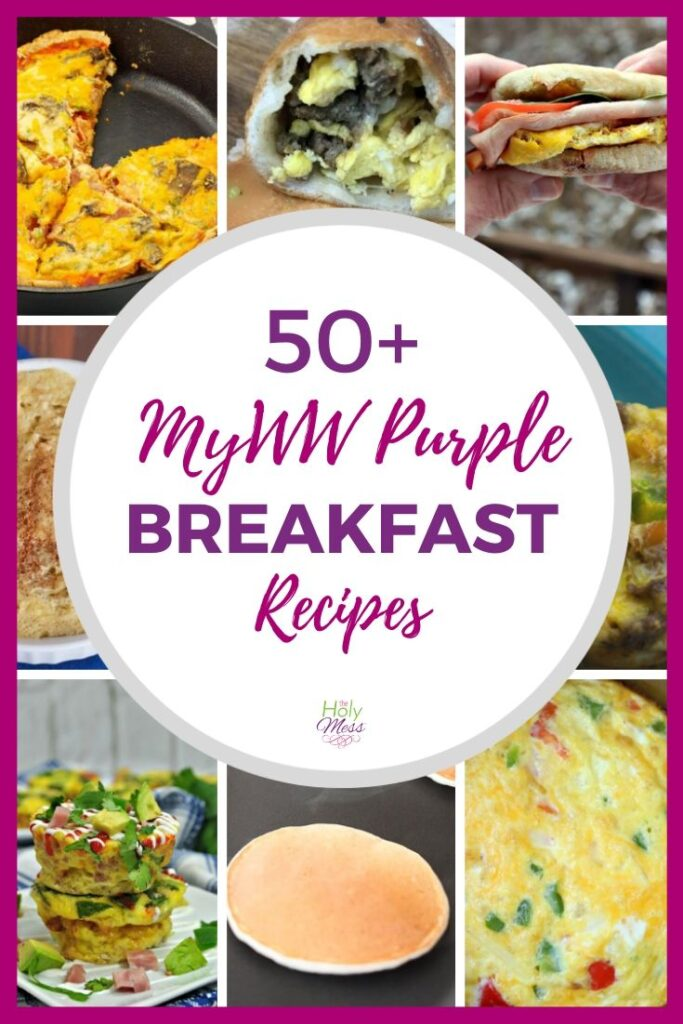 My WW Purple Breakfast Recipes