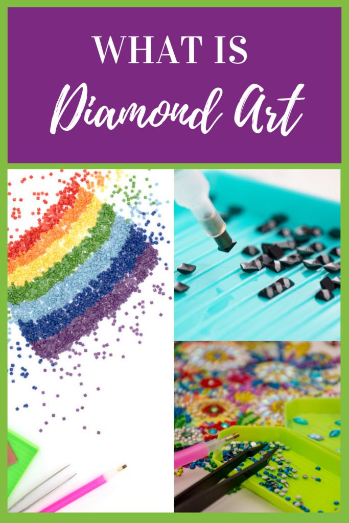 What is diamond art painting
