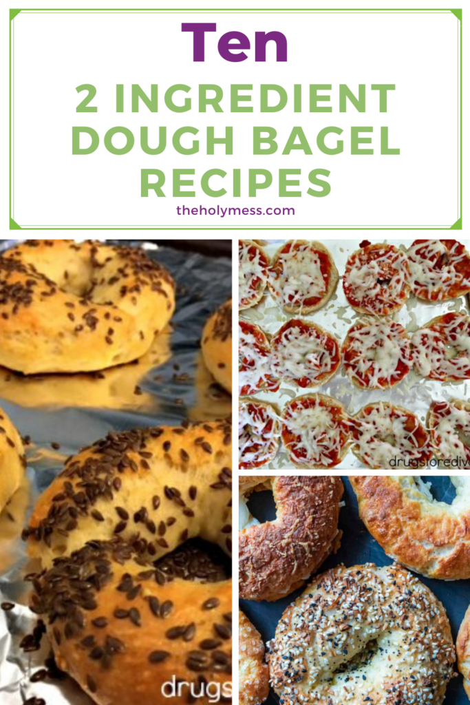 2 Ingredient Dough Bagel