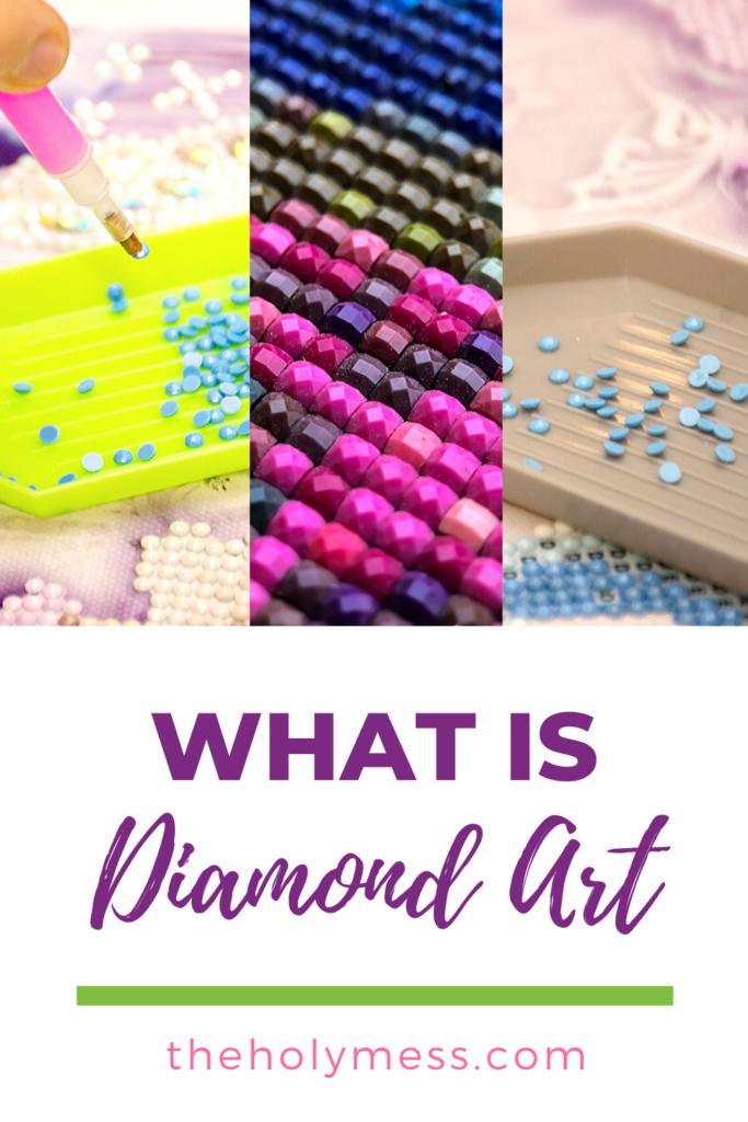 diamond art painting, what is diamond art