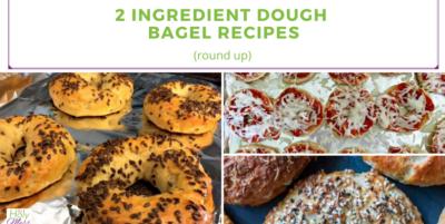 2 Ingredient Dough Bagel
