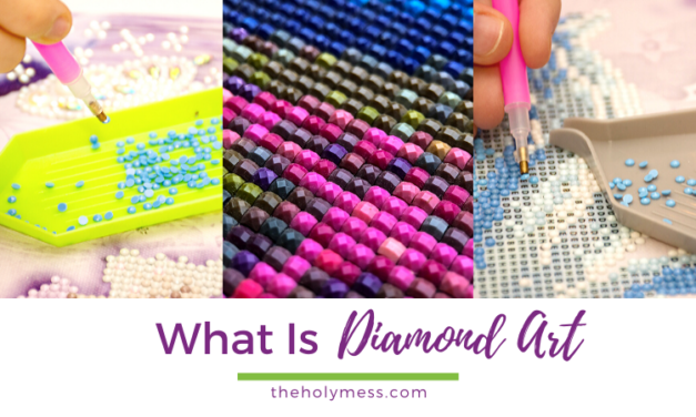 What Is Diamond Art? A Beginner's Diamond Painting Guide