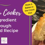 Slow Cooker 2 Ingredient Dough Bread Recipe