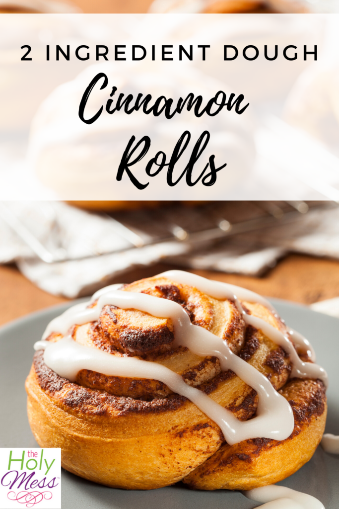 2 ingredient cinnamon rolls