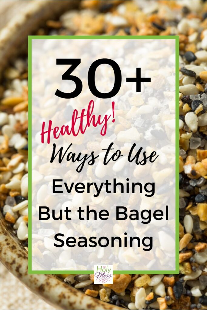Ways to Use Everything But the Bagel Seasoning Mix