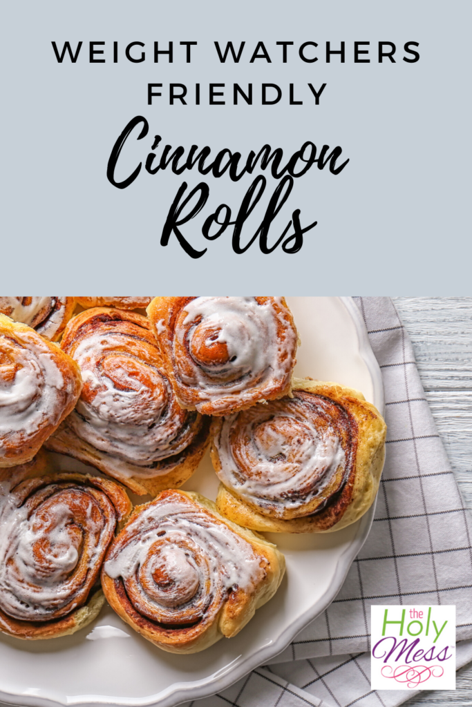 weight watchers friendly cinnamon rolls