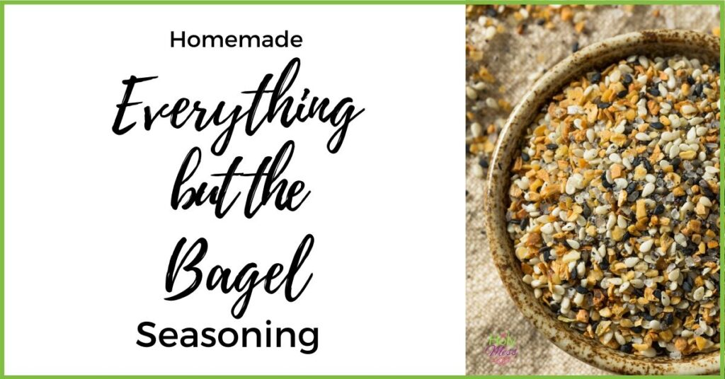Homemade Everything Bagel Mix