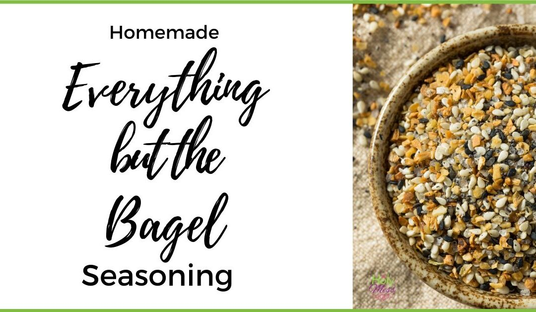 How to Make Homemade Everything But the Bagel Seasoning