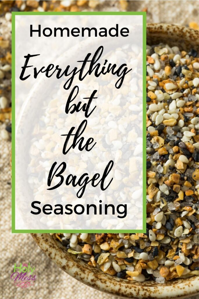 Everything Bagel Mix Recipe