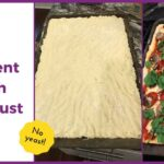 Two Ingredient Pizza Dough Crust