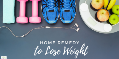 home remedy to lose weight