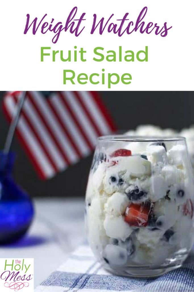 Weight watchers fruit salad