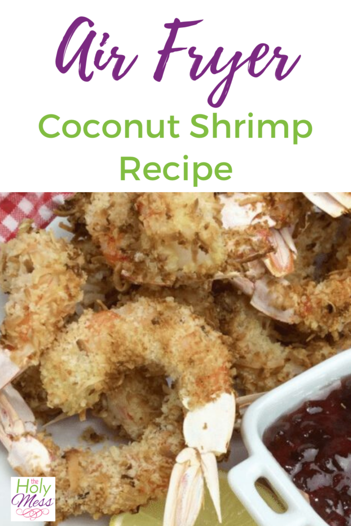 Air Fryer Coconut Shrimp recipe
