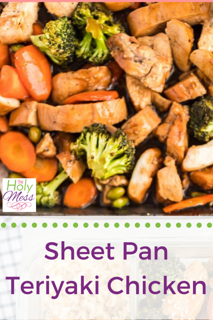 Sheet Pan Teriyaki Chicken, WW Chicken Teriyaki